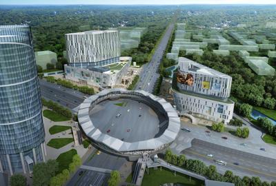 上海金沙江路真北路天桥