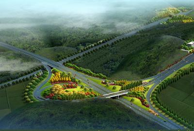金丽温高速公路丽水北互通工程