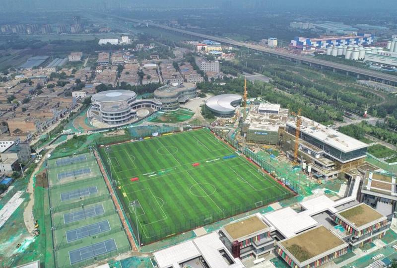 西安国际港务区陆港足球运动主题公园