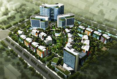腾飞苏州创新园一期A区机电安装工程