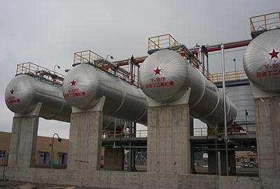 浙江三门维泰橡胶年产10万吨丁苯橡胶生产线设备安装工程