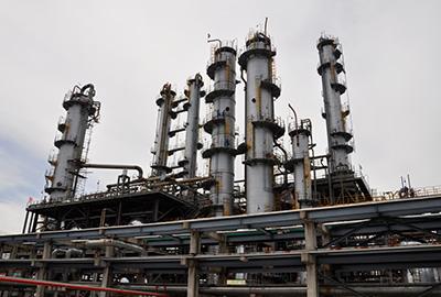嘉兴美福石化40万吨年芳烃抽提装置