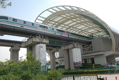 上海磁悬浮列出示范线龙阳路站机电安装工程