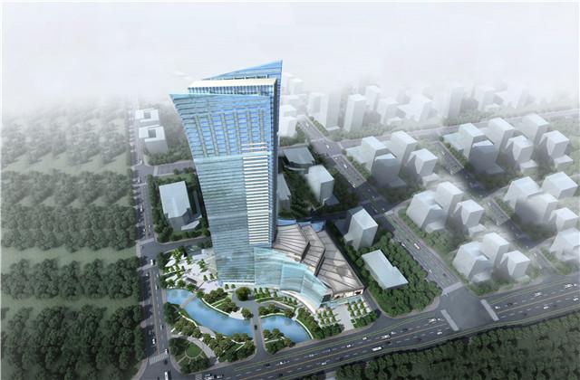 宁波新地标!中天二建强力打造鄞州曼哈顿大厦项目